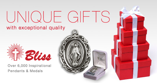 Inspirational Medals and Pendants by Bliss