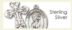 Sterling Silver Medals and Pendants by Bliss